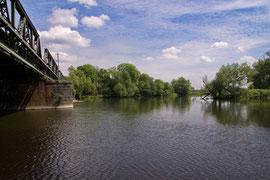 Die Ruhr an der Lennemündung