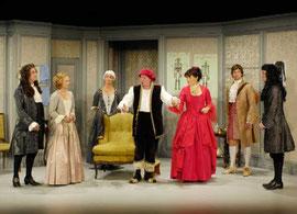 """""""Der eingebildete Kranke"""" im Kleinen Theater Bad Godesberg - Rolle: Thomas Diafoirus (Foto: © X, 2008), mit Alexander Grill u.a."""