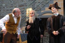 """""""Der Widerspenstigen Zähmung"""" bei den Burgfestspielen Mayen - Rolle: Lucentio (Foto: © Peter Seydel, 2008), mit Luna Metzroth"""