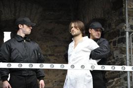 """""""Jesus Christ Superstar"""" bei den Burgfestspielen Mayen - Rolle: Soldat (Foto: © Peter Seydel, 2010)"""