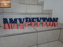 Spezialbemalung für USA - Fan