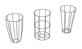 """3-D-Studie für Lampenhalterung """"Amarillo"""""""