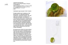 Projekt VMK - vertikaler Mooskultivierer aus Porzellan