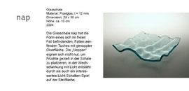 "Glasschale ""Nap"" - Floatglas - Formgebung durch Fusingverfahren"