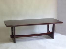 黒胡桃漆大テーブル