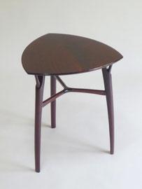 黒胡桃枝脚小テーブル