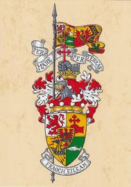 Wappen des Lord Macdonald of Macdonald