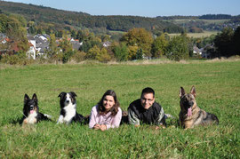 Jim, Joy, Melina, David und Luna