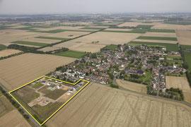 Luftbild Blickrichtung Köln