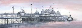 West Pier, dusk