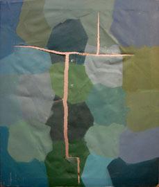 Acrílico sobre lienzo, 55 x 46 cm.