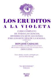 Los eruditos a la violeta (de José de Cadalso, 1772)