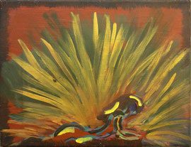 Acrílico sobre lienzo, 27 x 35 cm.
