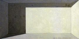 Grisalla 2. Óleo sobre tabla entelada, 15 x 30 cm.