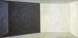 Grisalla 1. Óleo sobre tabla entelada, 15 x 30 cm.