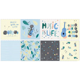 Music Is Life Panel 85cm