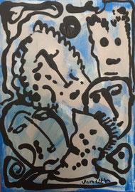 Jean-Paul Van Lith -Acrylique sur toile