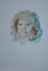 Lithographie.Léonor Fini, numérotée 101/150 Signée.Galerie Gabel Biot (06)galerie côte d'Azur