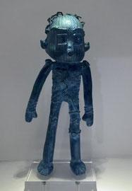 George: Doodle-pièce UNIQUE en bronze-cire perdue- disponible à la galerie-Galerie d'art Biot-côte d'Azur-Galerie Gabel-Lille Art Up -St'art Strasbourg