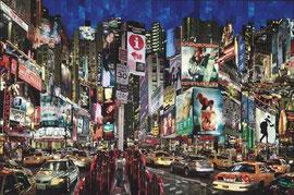 Serge Mendjisky-Monotype 145X97cm -Twins night- Galerie d'art Biot-Opio-Valbonne 06