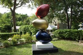 Philippe Berry -3 Ballons - sculpture en résine de 3 ou 2 mètres. Galerie d'art sud de la France-village de Biot