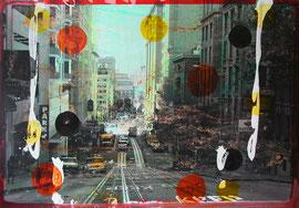 Tony Soulié San Francisco 185X125cm  à la galerie Gabel