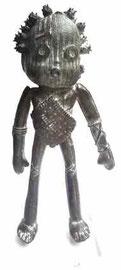 George: Doodle-pièce UNIQUE en bronze disponible à la galerie-Galerie d'art Biot-côte d'Azur-Galerie Gabel