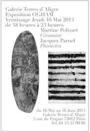 Affiches Martine Polisset 2013