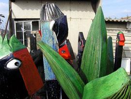 Jacky Coville-le jardin extraordinaire-Source: article Art côte Par Florence CANARELLI