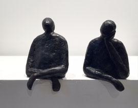 Sophie Hustin- pièces uniques en bronze.Galerie Gabel BIOT