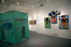 Lyle Carbajal-Romancing Banality-Solo show installation