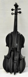 Arman-resin violon-74/100ex.contemporary art gallery french riviera-Biot