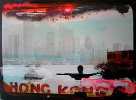 Tony Soulié 185X125cm Hong Kong à la galerie Gabel