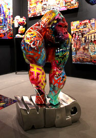Masaya -Funky gorilla--Art gallery south of France-French riviera-Biot