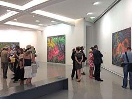 Vernissage de Karen au MAMAC( musée d'art contemporain de Nice)