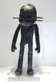 George: Doodle-pièce UNIQUE en bronze-cire perdue- disponible à la galerie-Galerie d'art Biot-côte d'Azur-Galerie Gabel-Lille Art Up-St'art Strasbourg 2014