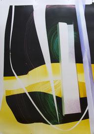 MARTA DJOURINA O.T., 2017, FILTERGRAMM AUF FOTOPAPIER, UNIKAT, 180 X 127 CM