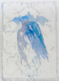 """ANNA SLOBODNIK """"O.T."""" ZYKLUS TEPPICH 250 X 180 CM MISCHTECHNIK AUF LEINWAND 2016"""