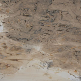 Wüste, 120/120cm, 2011