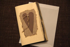 karte, blanko, format 21 x 15 cm, inkl. innenblatt und passendem couvert, fr. 9.50