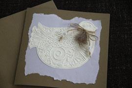 karte, blanko, format 15 x 15 cm, inkl. innenblatt und passendem couvert, fr. 9.50