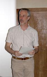 Robert Wolrab Schriftführer zeigt nochmal das Jahr 2012 auf und unterrichtet über geplante Unternehmungen für das Jahr 2013