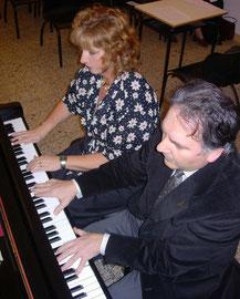 Con il pianista Fulvio Bianchi