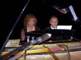 Con il pianista Fabrizio Borchi