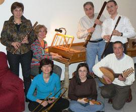 Con gli amici musicisti