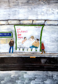 Paris Metro, Pasteur station