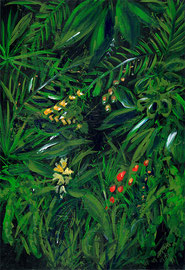 "Tahiti jungle (""The Moon and Sixpence"" by S. Maugham)"