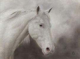 """Babalou"", pastel on pastelmat, 29 x 39 cm, commission"