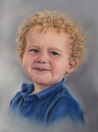 """Maximilian"" (2020), pastel on pastelmat, 30 x 40 cm, commission"