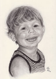 charcoal on Daler Rowney drawing paper, 20 x 30 cm, commission